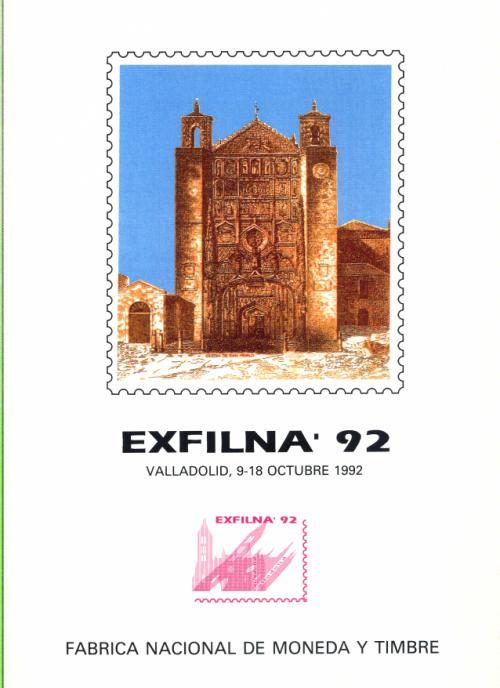 1992 Documento FNMT. Exfilna