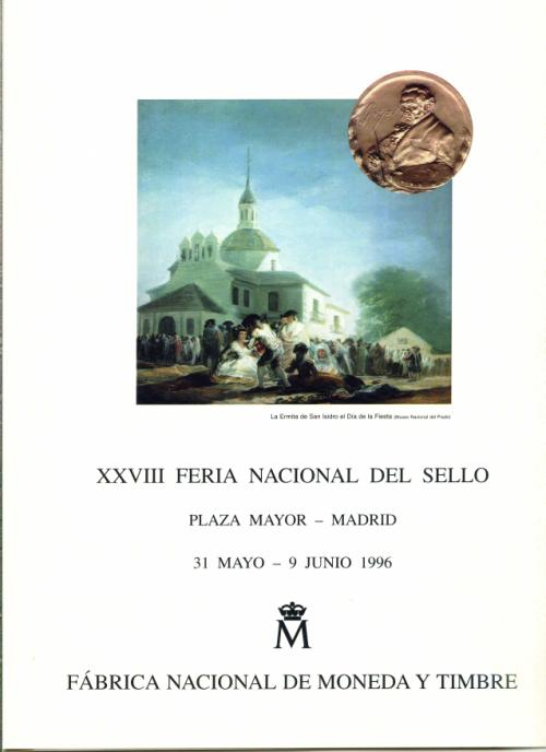 1996. Documento FNMT. XXVIII. Feria Nacional del Sello