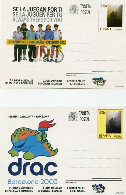 2003. Juegos Mundiales. Barcelona
