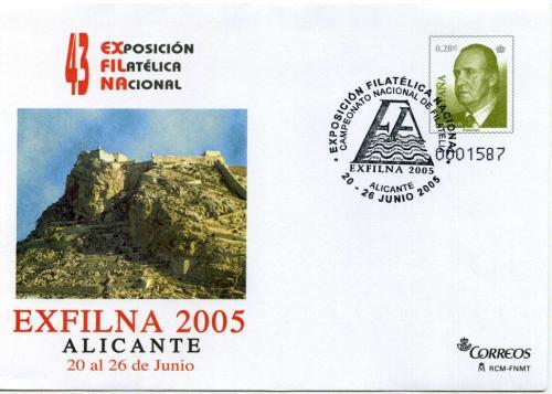 2005. Exfilna. Alicante. Matasellado