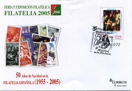 2005. Filatelia. Madrid. Matasellado