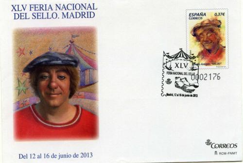 2013. Feria Nacional del Sello. Madrid. Matasellado A