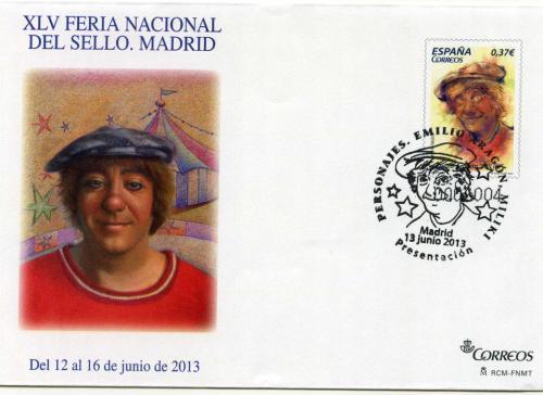 2013. Feria Nacional del Sello. Madrid. Matasellado B