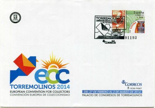 2014. ECC Torremolinos. Málaga. Matasellado A