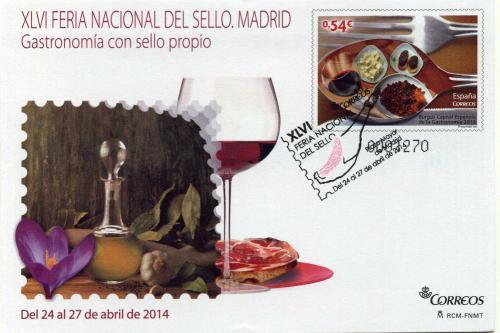 2014. Feria Nacional del Sello. Madrid. Matasellado