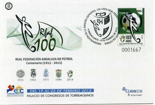 2015. ECC Torremolinos. Málaga. Matasellado