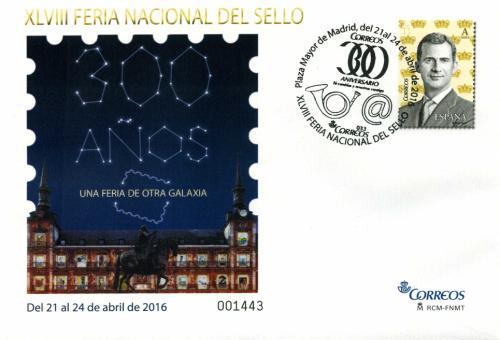 2016. Feria Nacional del Sello. Madrid. Matasellado A