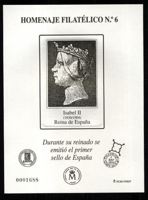 2010. Isabel II. Reina de España