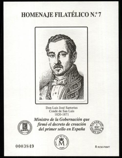 2011. Don Luis José Sartorius. Conde San Luis