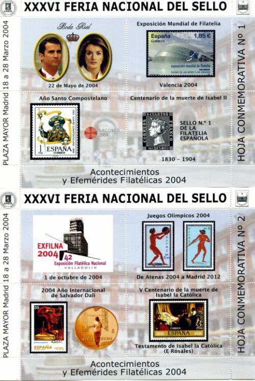 2004. Feria Nacional del Sello. Madrid