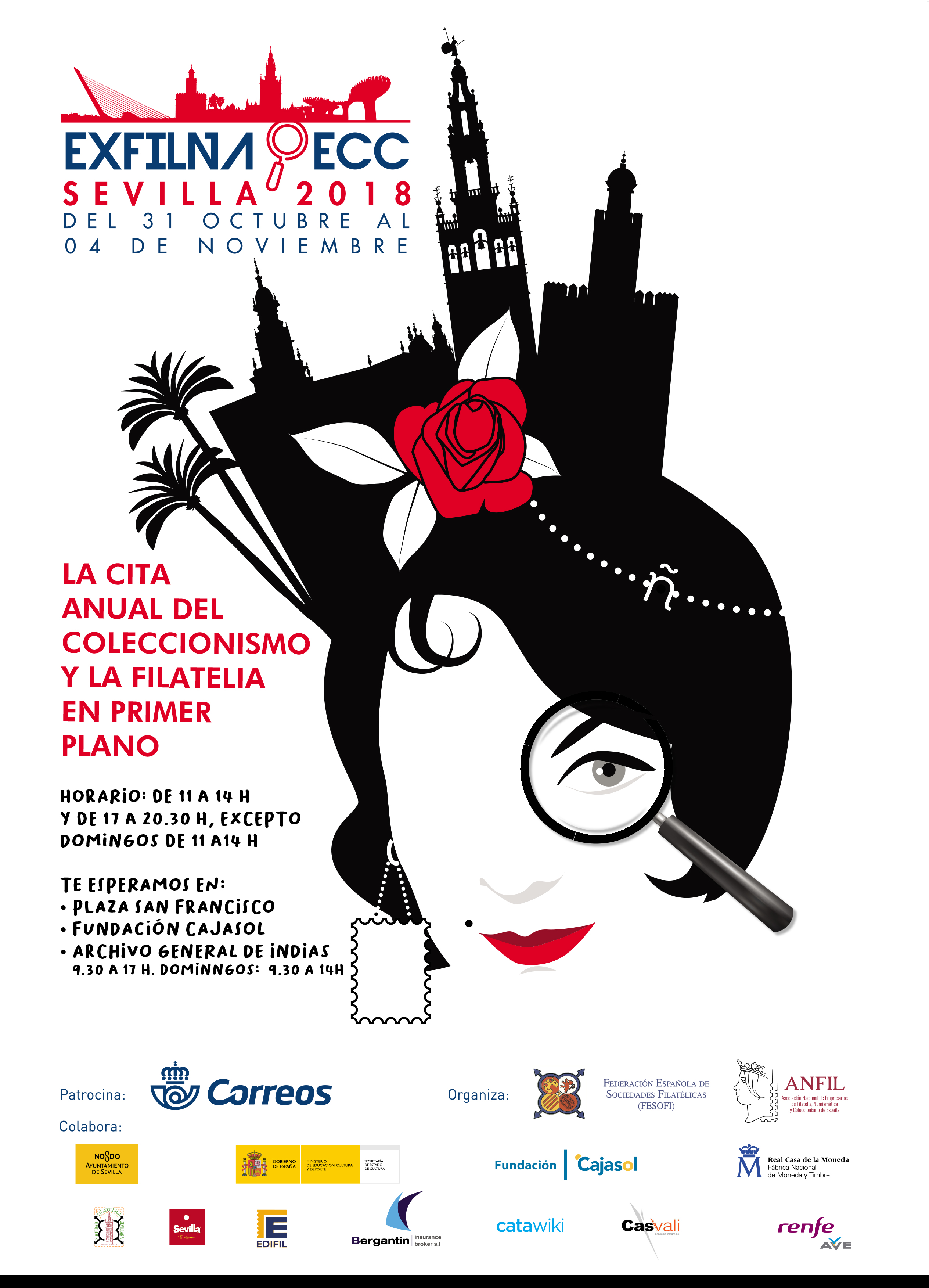 Hora de empezar a preparar el viaje a la EXFILNA - ECC de Sevilla 2018