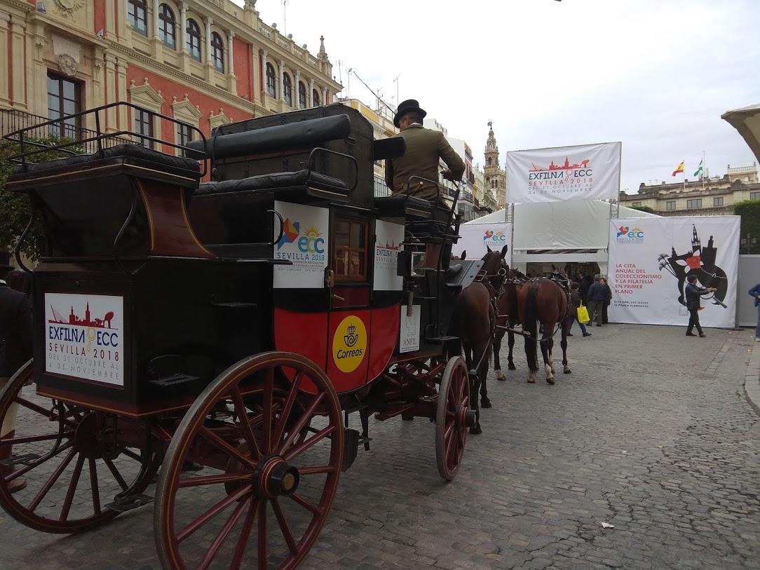 Abre en Sevilla la gran cita del coleccionismo con la presentación de nuevos sellos e intenso ritmo comercial