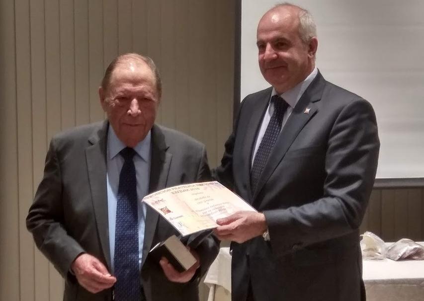 Francisco Infantes Peña gana el Gran Premio EXFILNA 2018 por su colección 'Correo Certificado Alfonso XIII'