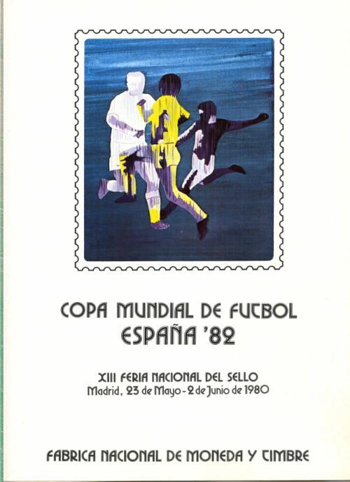 1980. Documento FNMT. Copa Mundial de Fútbol
