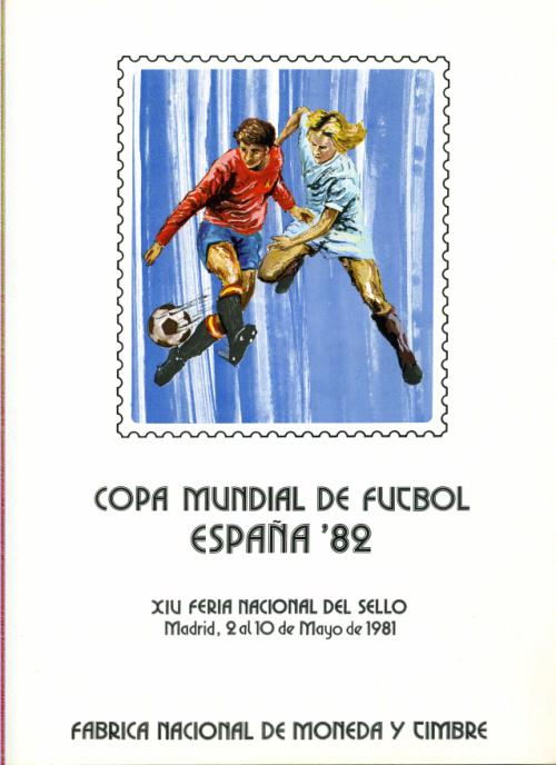 1981. Documento FNMT. Copa Fútbol