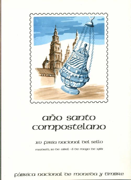 1982 Documento FNMT Año Santo Compostelano