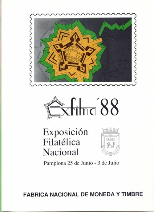 1988 Documento FNMT. Exfilna