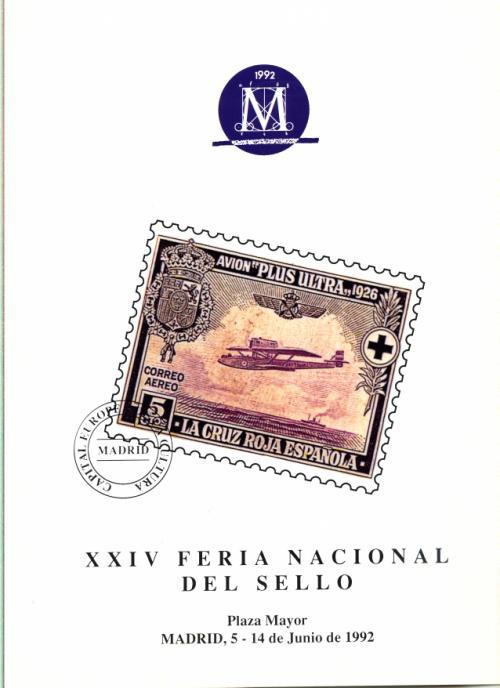 1992. Documento FNMT. XXIV Feria Nacional del Sello