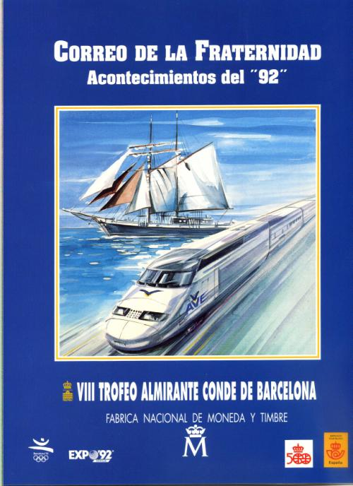 1992. Documento FNMT. Correo de la Fraternidad