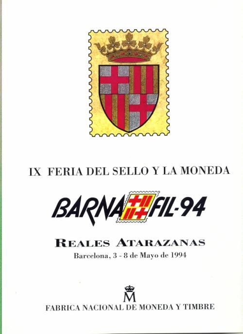 1994. Documento FNMT. Barnafil