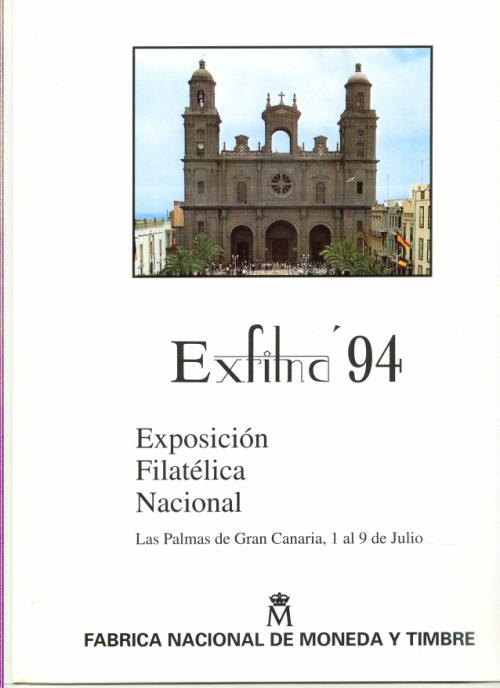 1994. Documento FNMT. Exfilna