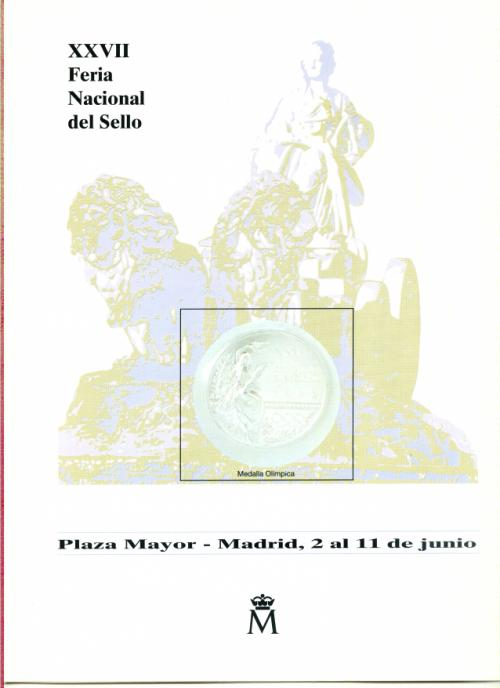 1995. Documento FNMT. XXVII. Feria Nacional del Sello