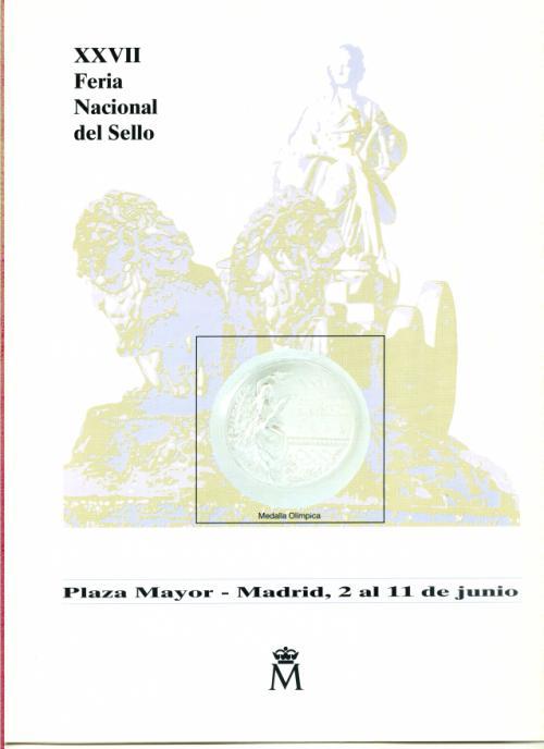 1995. Documento FNMT. XXVII. Feria Nacional del Sello