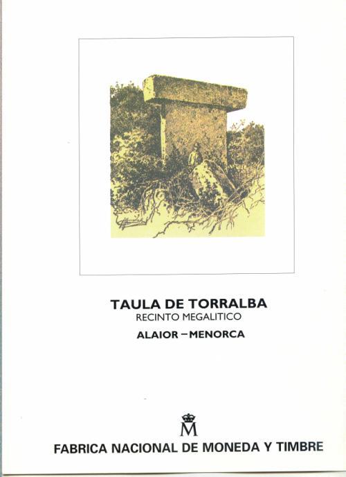 1995. Documento FNMT. Taula de Torralba