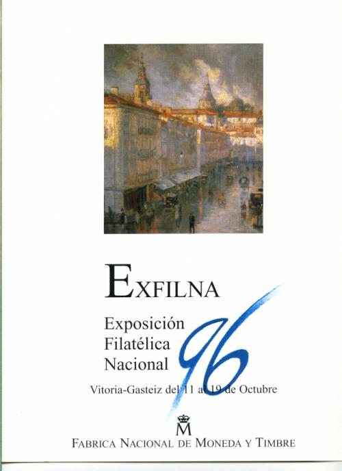1996. Documento FNMT. Exfilna