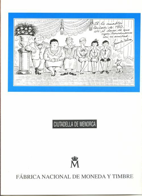 1997. Documento FNMT. Ciutadella Menorca