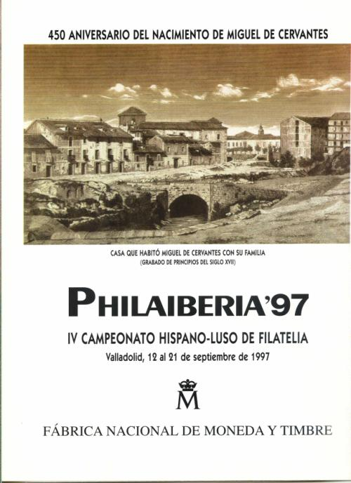 1997. Documento FNMT. Philaiberia