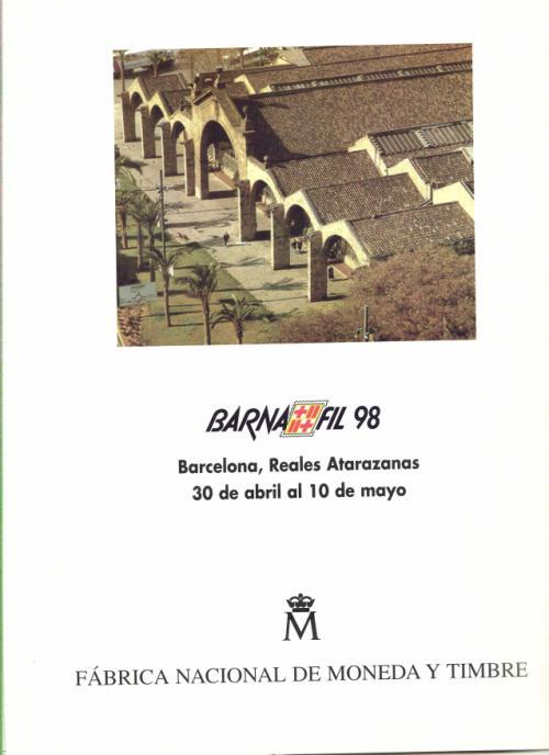 1998. Documento FNMT. Barnafil