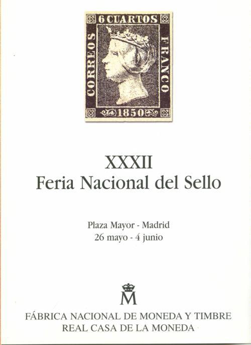 1999 Documento XXXII. feria Nacional del Sellos