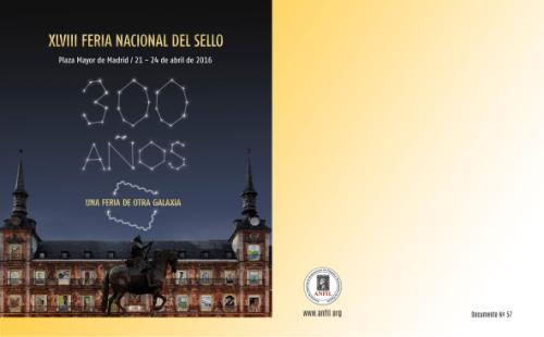2016. Documento Anfil. 300 Años del Correo