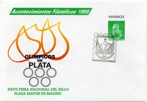 1995. Acontecimientos Filatélicos. Matasellado