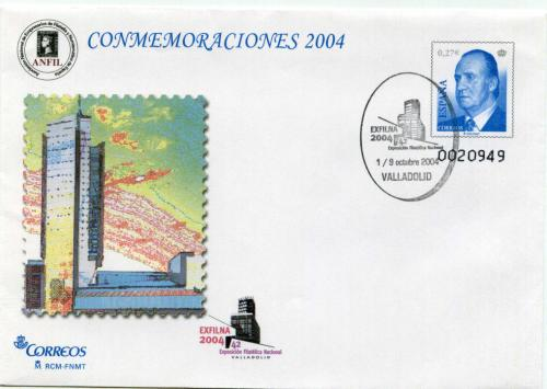 2004. Exfilna. Valladolid. Matasellado