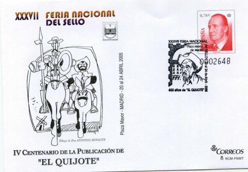 2005. Feria Nacional del Sello. Madrid. Matasellado A