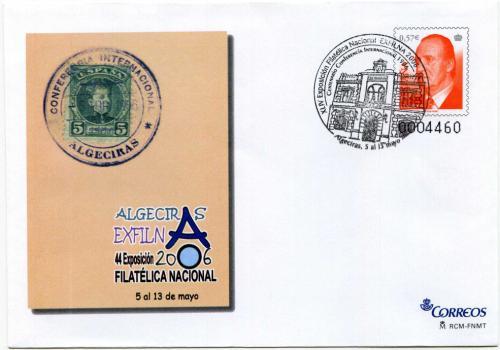 2006. Exfilna. Algecíras. Matasellado