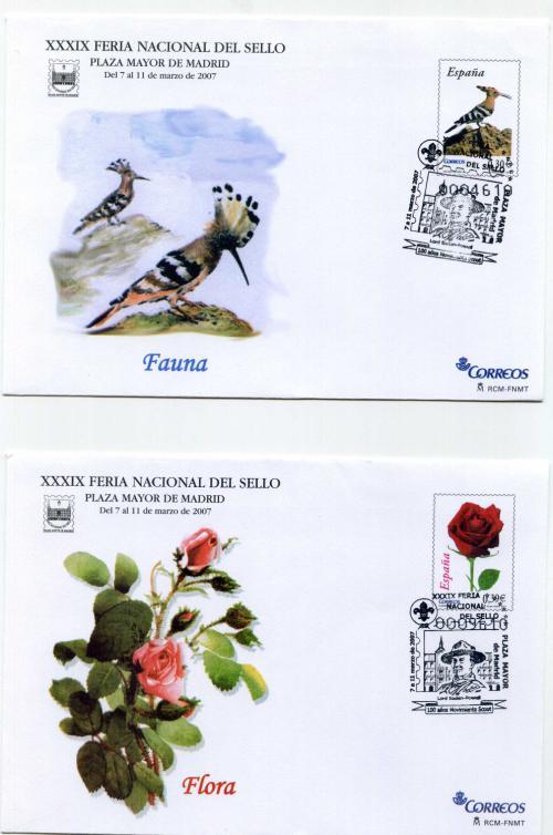2007. Feria Nacional del Sello. Madrid. Matasellado