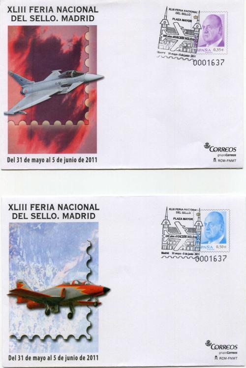 2011. Feria Nacional del Sello. Madrid. Matasellado