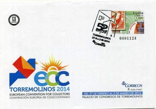 2014. ECC Torremolinos. Málaga. Matasellado B
