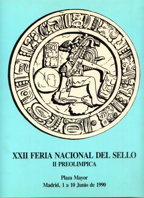 1990. Documentos Varios. XXII Feria del Sello II Preolímpica
