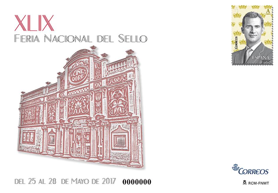 2017. Feria Nacional del Sello. Madrid.