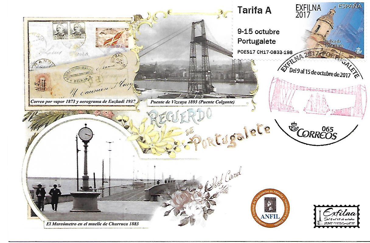 2017. Exfilna Portugalete. Portugalete.