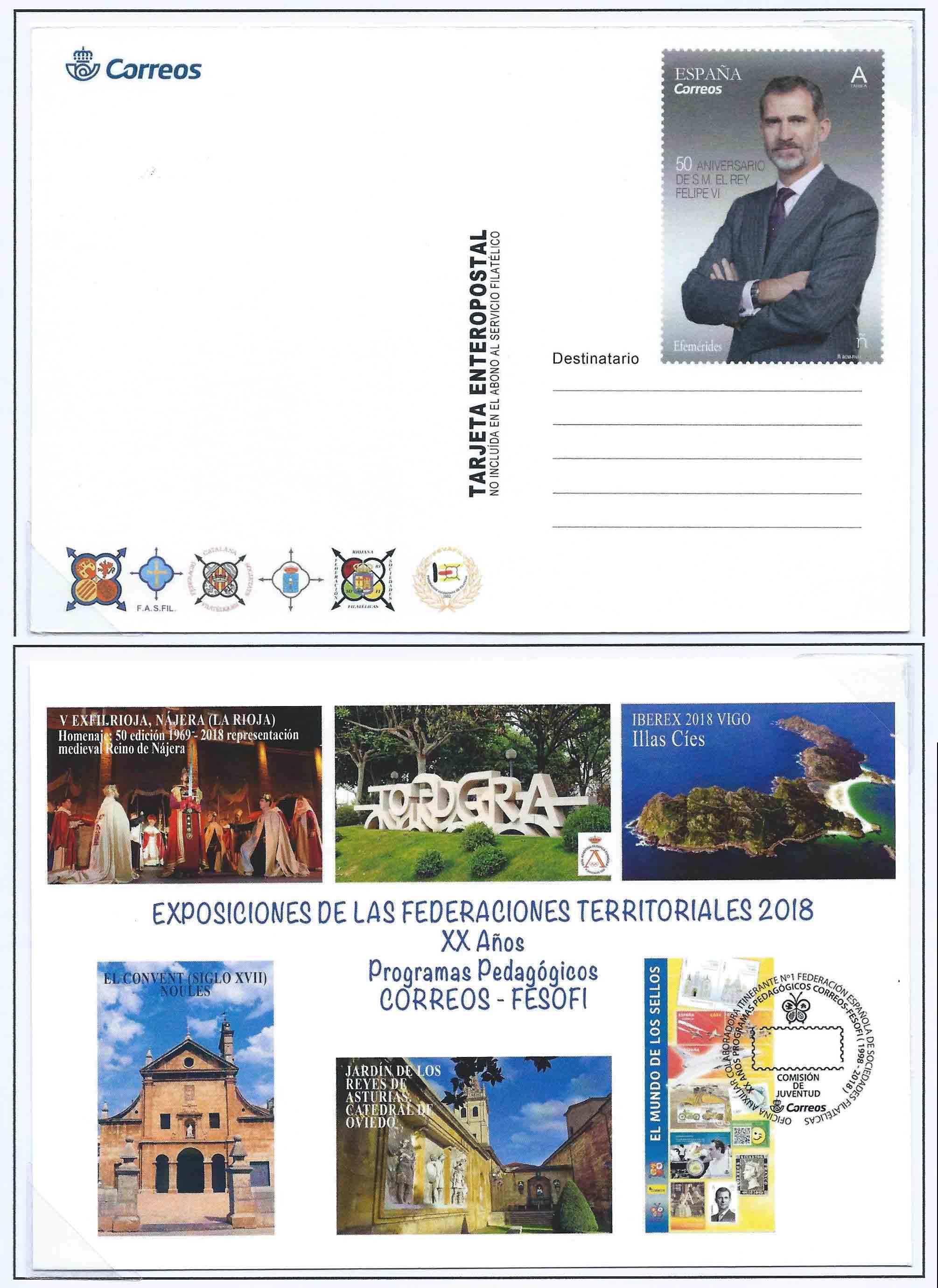 2018. 50 Feria Nacional del Sello. Fesofi