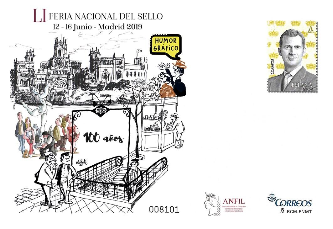 2019. Feria Nacional del Sello. Madrid
