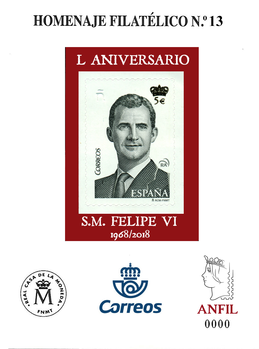 2018. 50 Aniversario S.M. Felipe VI.