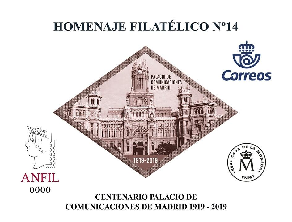 2018. Centenario Palacio de Comunicaciones de Madrid, 1919-2019.